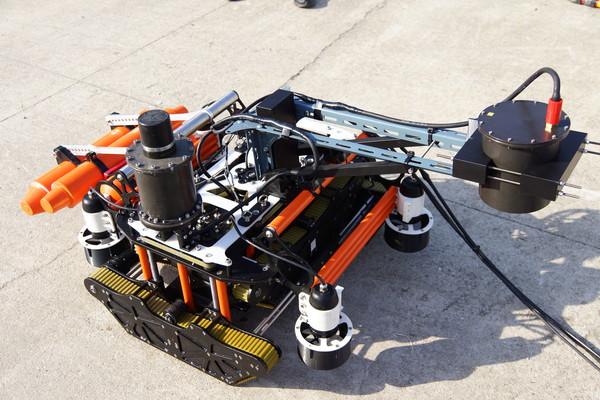 해저 건설 내벽 진단 로봇 ⓒ 두로코인